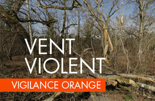 "Le département du Gers placé en vigilance orange ""vents violents"""